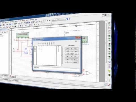 Digital MultiSim Logic Converter