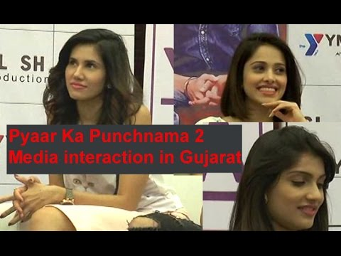 Pyaar Ka Punchnama 2 team interacts with media in Gujarat