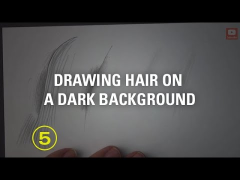 The Secret to Making Hair Stand Out from a Dark Background in Your Drawings