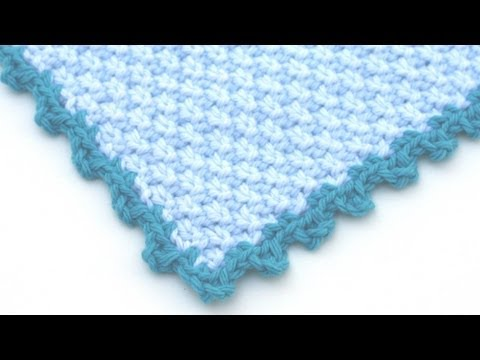 Youtube Crocheting Borders : Crochet for Knitters - Picot Edging - YouTube