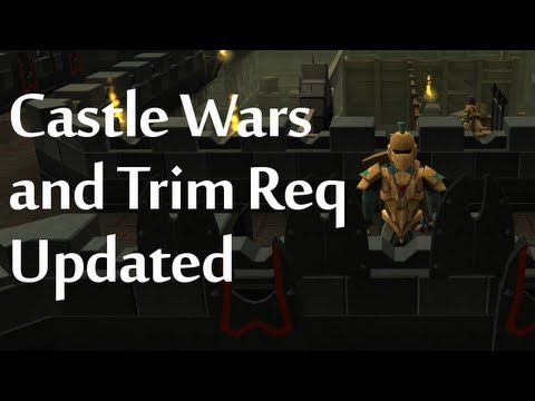 Castle Wars and Trim Req Update