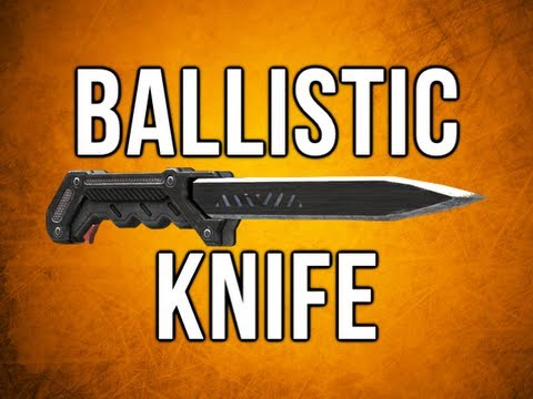 Black Ops 2 In Depth - Ballistic Knife Special Weapon Review