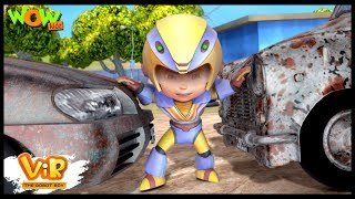 Car Thief | Vir: The Robot Boy WITH ENGLISH, SPANISH & FRENCH SUBTITLES | WowKidz