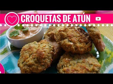 Tortitas de Atún Tuna cakes Croquetas de atún Las Recetas de Laura Recetas Light
