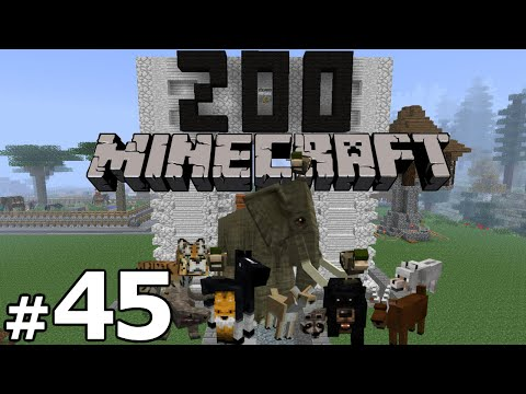 Minecraft Zoo Build - Part 45 - Bear Sex video