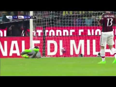 [SKY SPORT ITA HD] Guarin gol Inter 1 Milan 0
