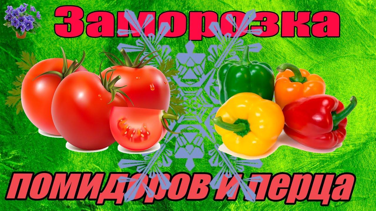 заморозка помидоров на зиму рецепты с фото