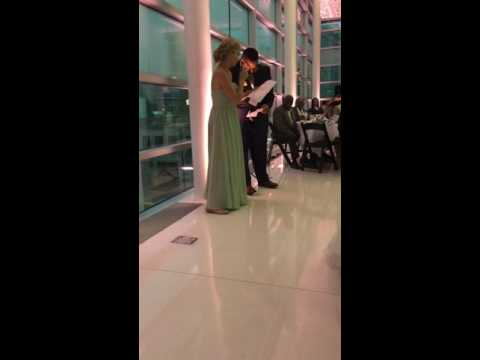 Beyonce/Jay Z Maid of Honor and Best Man Speech