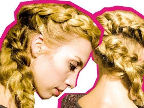 Плетение кос с полиной
