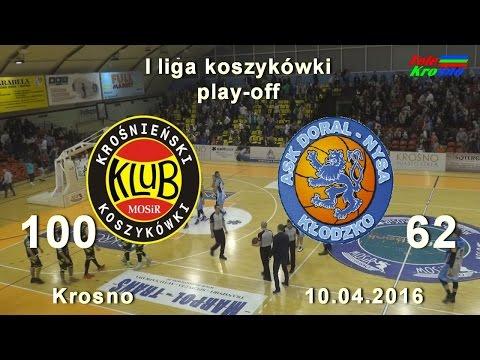 Koszykówka: Miasto Szkła Krosno - Nysa Kłodzko (cały Mecz)