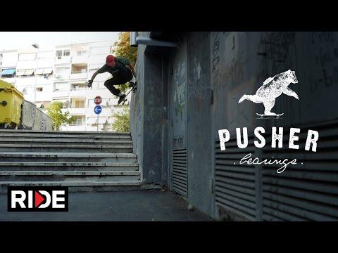 Pusher Bearings - The First Lap