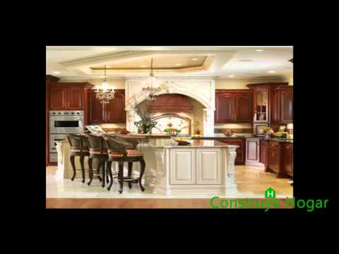 Tipos y dise os de pisos para cocina youtube for Piso de concreto cera cocina
