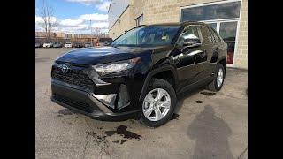 2019 RAV4 HYBRID LE Walkaround! Attrell Toyota – Brampton ON