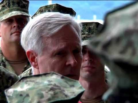 Secretary of the Navy Ray Mabus visits Sasebo