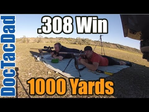 1000 Yards - .308 Win Hunting Rifle - Elk Sniper