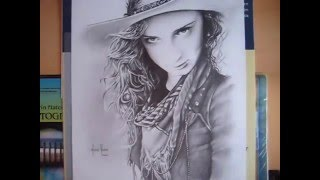 Cowgirl - Speed Drawing