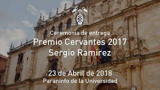 Ceremonia de entrega del Premio Cervantes 2017 a Sergio Ramírez · 23/04/2018
