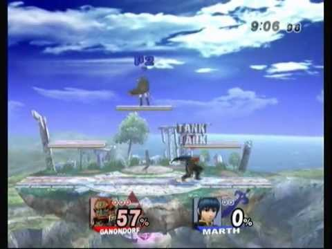 Brawl - E4UR Singles - Tearbear (Ganondorf) vs Bosco (Marth) Pools