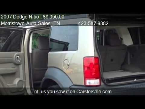 2007 Dodge Nitro SXT 2WD - for sale in Morristown, TN 37814