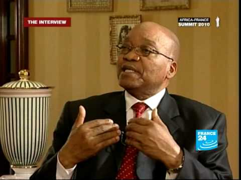 FRANCE 24 The Interview - Jacob Zuma, South African president