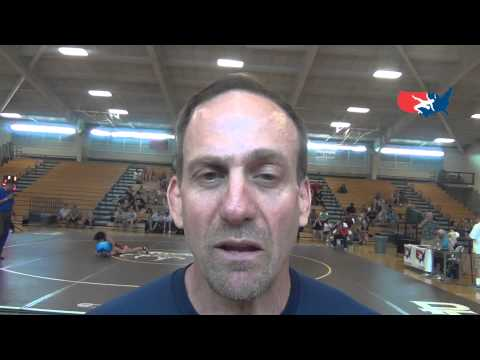 Junior World Greco-Roman Coach Mark Halvorson talks about team's training Image 1