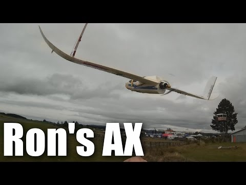 Tailless AXN Clouds Fly Floater jet crash (crash crash)
