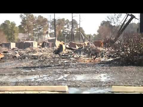 Search and Rescue Efforts for the Carolina Forest Fire