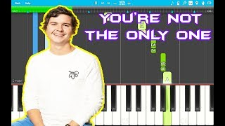 Lukas Graham You 39 Re Not The Only One Piano Tutorial Easy 34 3 The Purple Album 34 Piano