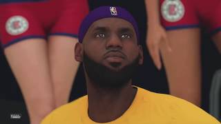 NBA 2K20 Gameplay - Los Angeles Clippers vs Los Angeles Lakers – NBA 2K20 PS4