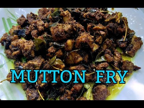 MUTTON FRY/MUTTON PEPPER FRY/MARUNNU MUTTON/HOW TO COOK/EASY&SIMPLE