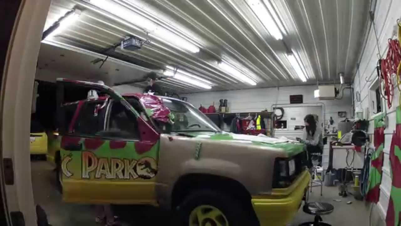 Jurassic Park Explorer Wrap Install Youtube