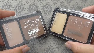 Catrice Prime&Fine Contouring Duo Bronzer Highlighter - MoreMamaco