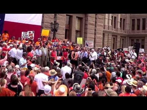 Stand With Texas Women Rally Wendy Davis Speech