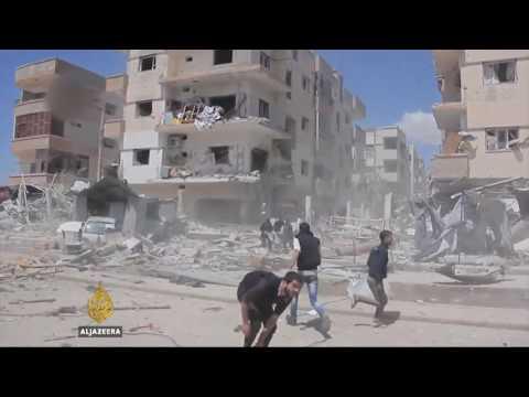 Civilian casualties mount in government strikes on Aleppo