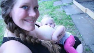 Breastfeeding on Demand when & where your baby is hungry  & a glimpse on our homestead