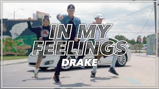 In My Feelings #TheShiggyChallenge | Michael Le Choreography | @justmaiko @champagnepapi