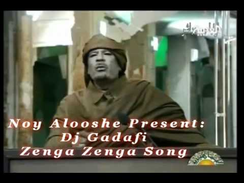 Kadafi with his version to Pitbull's song. Remix by Noy Alooshe Fot the Official single: http://www.youtube.com/watch?v=4Qp7I8HWNjQ For Info & details : Noyalooshe@gmail.com.
