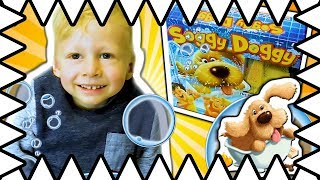 Soggy Doggy Toy! Kids Surprise Toy! Family Fun Board Game Review Toys For Kids by Kids!