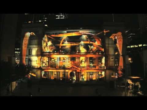 Hot Wheels Secret Race Battle - 3D projection mapping in Sydney