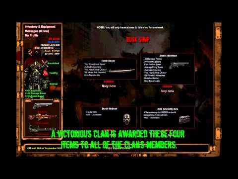 Dead Frontier: Clan Dusk Shop