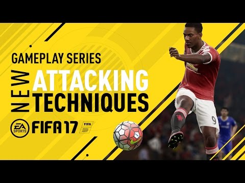 FIFA 17 Gameplay Features - New Attacking Techniques - Anthony Martial