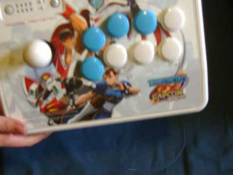 Tatsunoko VS Capcom Ultimate All-Stars - Game & Arcade Stick Unboxing