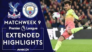 Crystal Palace v. Man City | PREMIER LEAGUE HIGHLIGHTS | 10/19/19 | NBC Sports