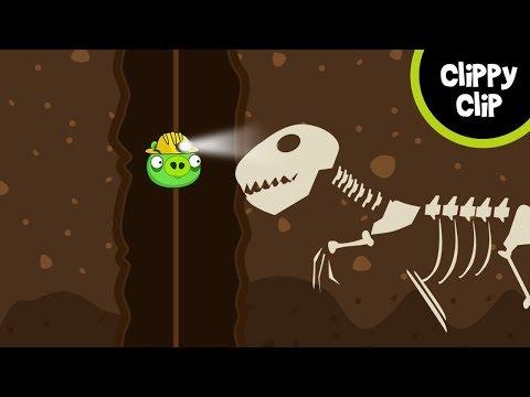 Custom Angry Birds and Bad Piggies Animation: The Underground