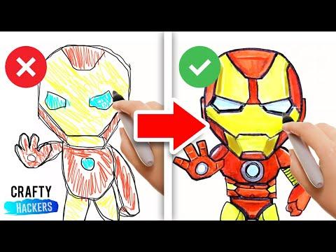 10 AMAZING SUPERHERO HACKS | DIY DECORATIONS MADE FROM COMIC BOOKS