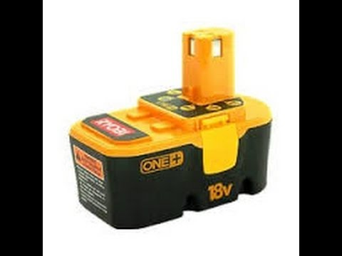 How to charge A DEAD Ryobi 18 volt rechargeable battery!