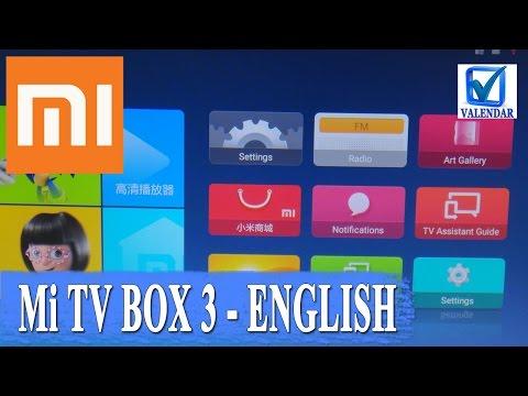 Xiaomi Mi TV Box 3 Enhanced установка английского языка вместо китайского