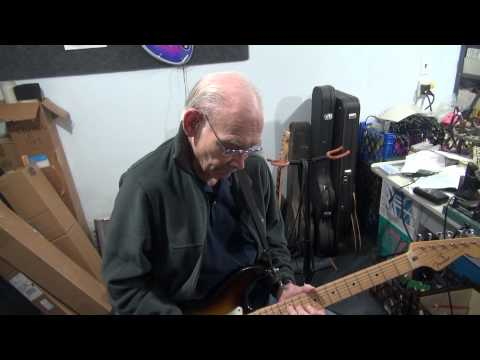 Max Butler Plays D-lab Opti-Plex Tube Guitar Amp Fender Champ Demo