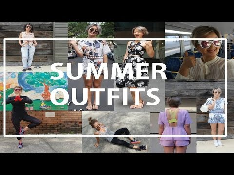 Summer Outfit & Food Diaries |VLOG| Make Me Over Katie