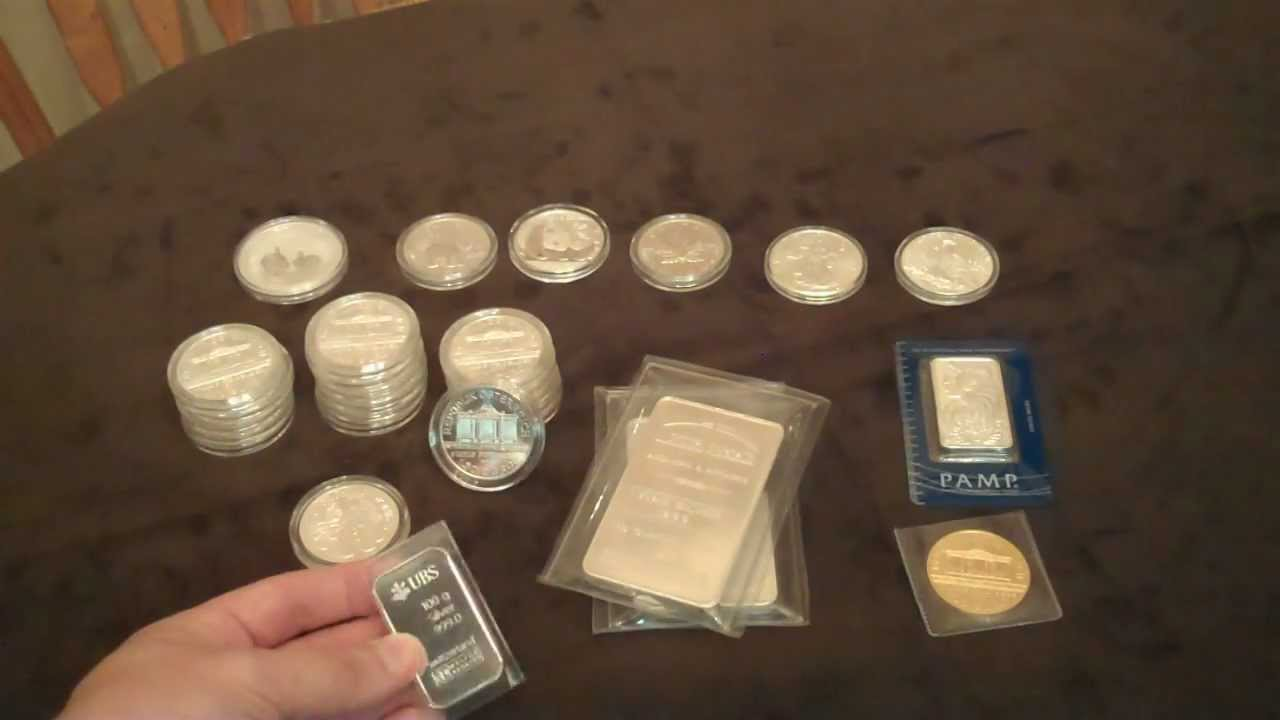 Silver Update 2012 100 Gram Ubs Silver Bullion Bar Youtube